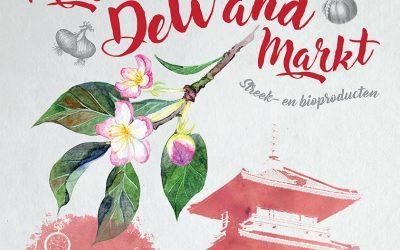 PERSBERICHT : Een nieuwe tuin bij De Wand ! Een lokale markt voor zijn inwoners