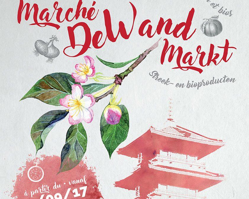 COMMUNIQUE DE PRESSE : Un jardin à De Wand ! Un marché local pour ses habitants.